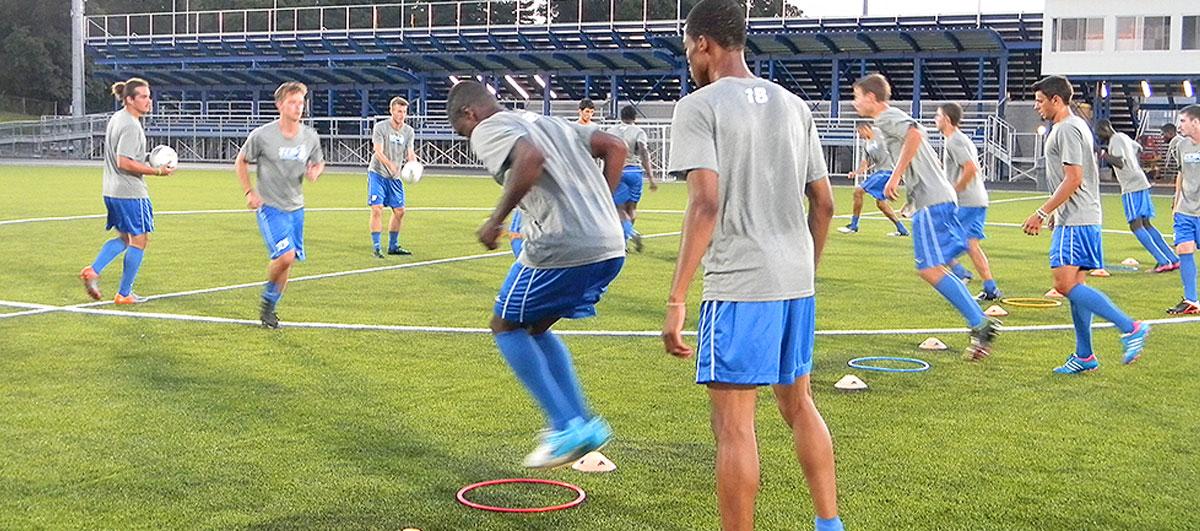 Slider treningsleir fotball