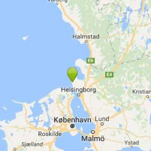 Kart Höganäs Sportlodge i Sverige