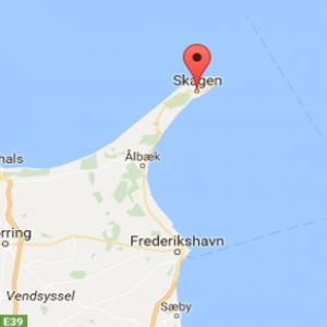 Kart Skagen