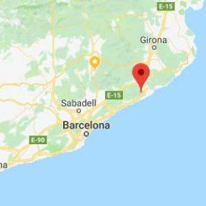 Kart Santa Susanna Spania